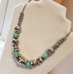 Fashion Jewelry Silverstone neckkace